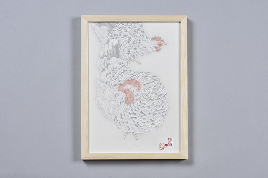 矮鶏(ちゃぼ)